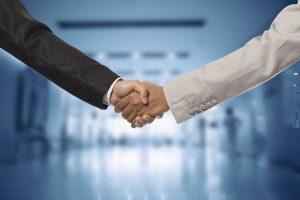 Handshake regarding metal recycling
