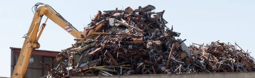 Slag Metal Scraps : Usa steel mill scrap processing company metal