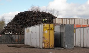Intermodal & Container Dismantling | Scrap Metal Services