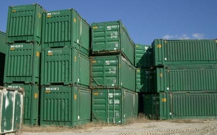Intermodal & Container Dismantling | Scrap Metal Services
