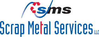 Scrap Metal Services logo on the website of a scrap metal company Chicago